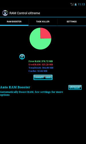 RAM: Control eXtreme app for Android, download programs for phones and tablets for free.