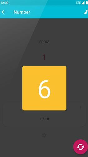random number generator phone app