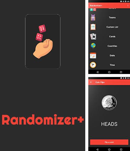 Download Randomizer+: Decision maker for Android phones and tablets.