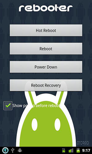 Download Rebooter for Android for free. Apps for phones and tablets.