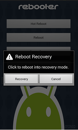 Rebooter app for Android, download programs for phones and tablets for free.