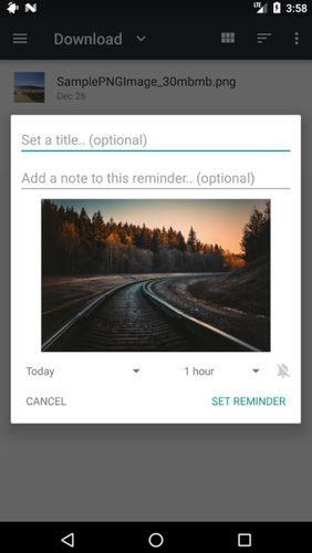 Remindee - Create reminders app for Android, download programs for phones and tablets for free.