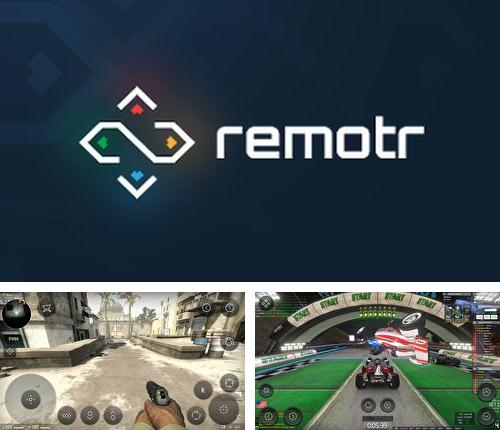 Besides Emojidom Smileys Android program you can download Remotr game streaming for Android phone or tablet for free.