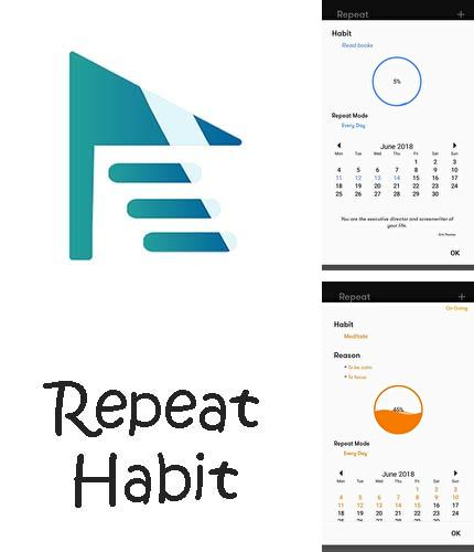 Descargar gratis Repeat habit - Habit tracker for goals para Android. Apps para teléfonos y tabletas.