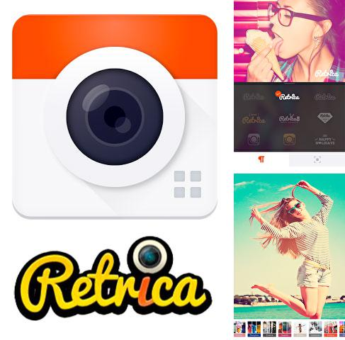 Besides Translit Android program you can download Retrica for Android phone or tablet for free.