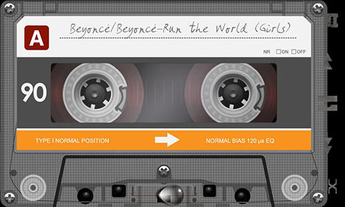 Descargar gratis Retro tape deck music player para Android. Programas para teléfonos y tabletas.