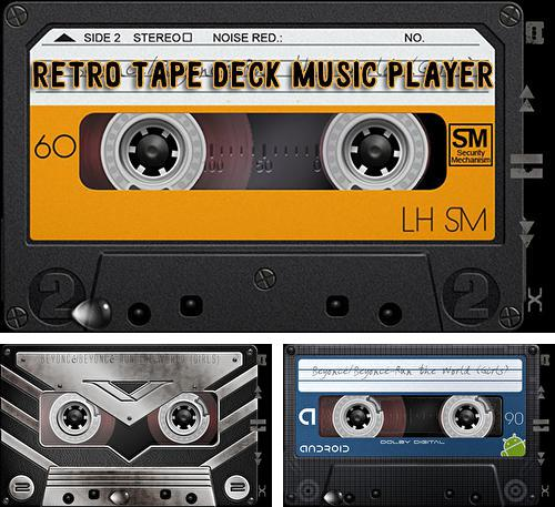 Besides Spectral Analyzer Android program you can download Retro tape deck music player for Android phone or tablet for free.
