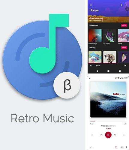 Besides Cornerfly Android program you can download Retro music player for Android phone or tablet for free.