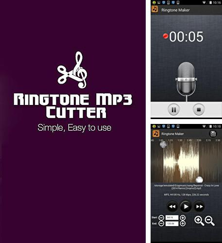Besides Genius: Song and Lyrics Android program you can download Ringtone maker mp3 cutter for Android phone or tablet for free.