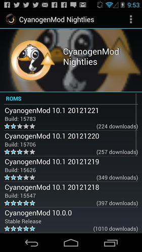 Download ROM manager for Android for free. Apps for phones and tablets.