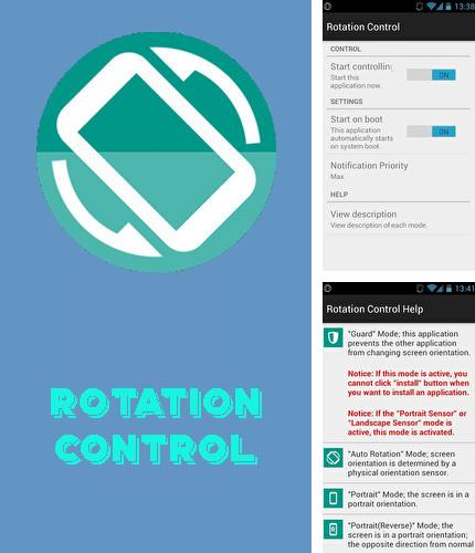 Además del programa Gaming mode - The ultimate game experience booster para Android, podrá descargar Rotation control para teléfono o tableta Android.