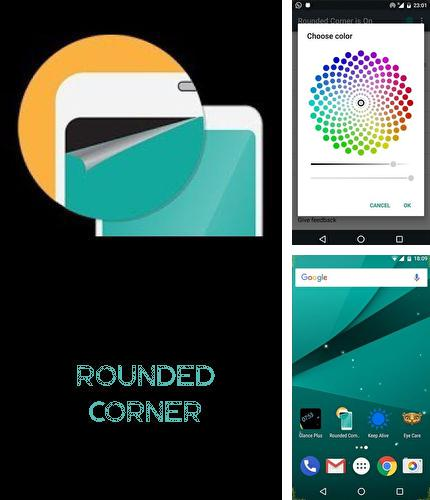Besides Archos: Video Player Android program you can download Rounded corner for Android phone or tablet for free.