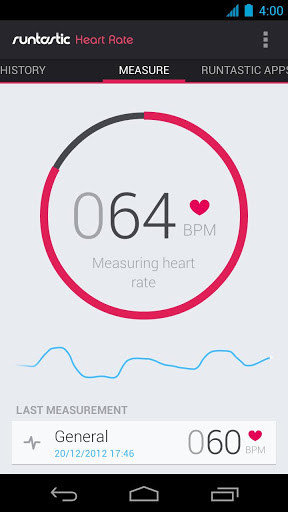 Runtastic heart rate app for Android, download programs for phones and tablets for free.