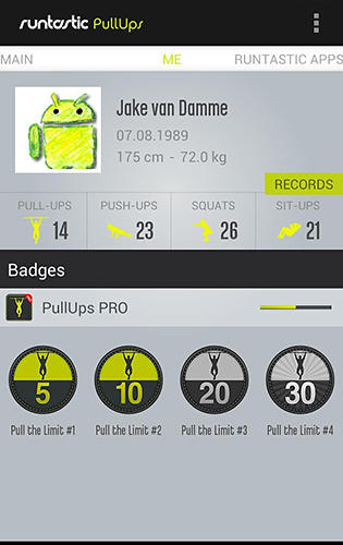 Download Runtastic: Pull-ups for Android for free. Apps for phones and tablets.