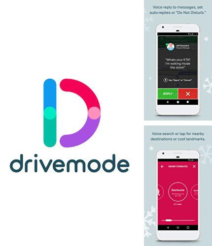 Besides Perfect viewer Android program you can download Safe driving app: Drivemode for Android phone or tablet for free.