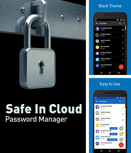 Download Safe in cloud password manager for Android phones and tablets.