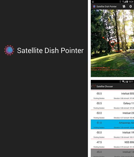 Besides Simple control: Navigation bar Android program you can download Satellite Dish Pointer for Android phone or tablet for free.