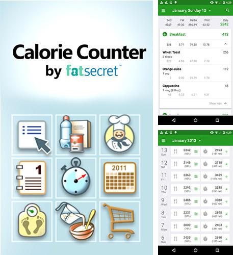 Besides Hi Translate - Whatsapp translate, сhat еranslator Android program you can download Calorie counter for Android phone or tablet for free.