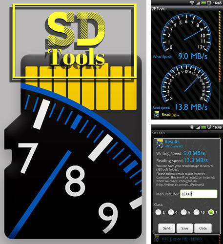 Besides Praditus: Personality test Android program you can download SD tools for Android phone or tablet for free.