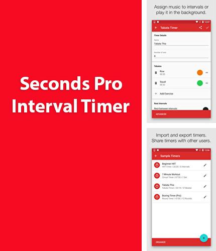 Download Seconds Pro: Interval Timer for Android phones and tablets.