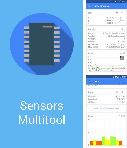 Besides Device info: Hardware & software Android program you can download Sensors multitool for Android phone or tablet for free.