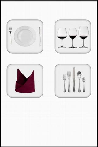 Screenshots of Table Appointments program for Android phone or tablet.