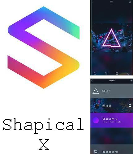 Besides Executive assistant Android program you can download Shapical X for Android phone or tablet for free.