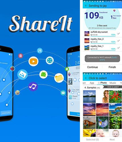 Besides GO Launcher HD Android program you can download Share it for Android phone or tablet for free.