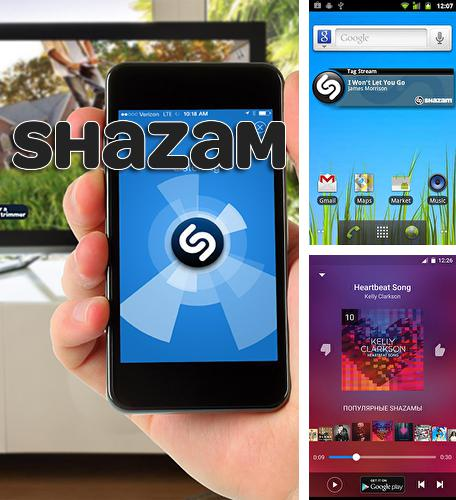 Besides Square home Android program you can download Shazam for Android phone or tablet for free.