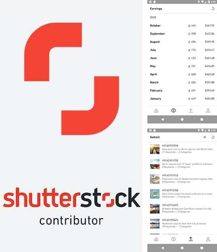 Besides Node Beat Android program you can download Shutterstock contributor for Android phone or tablet for free.