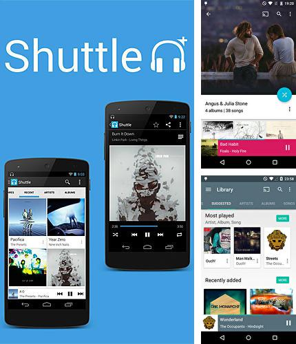Download Shuttle+ music player for Android phones and tablets.