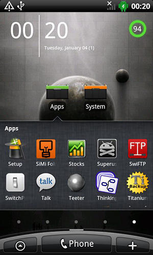 Download No launcher for Android for free. Apps for phones and tablets.