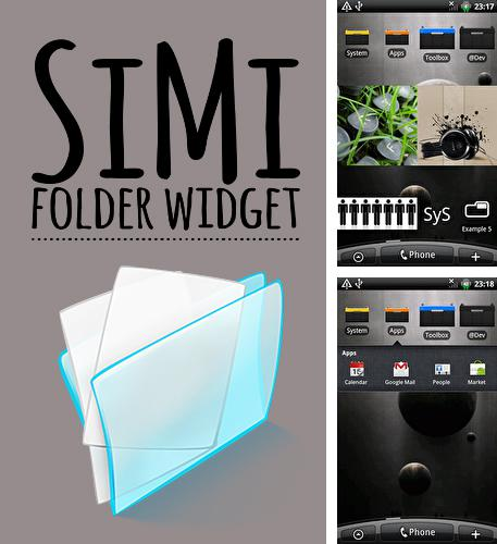 Download SiMi folder widget for Android phones and tablets.