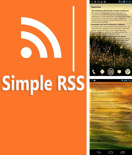 Besides Pocket Android program you can download Simple RSS for Android phone or tablet for free.