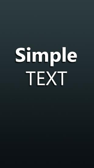 Simple Text