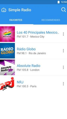 Download Simple radio - Free live FM AM for Android for free. Apps for phones and tablets.