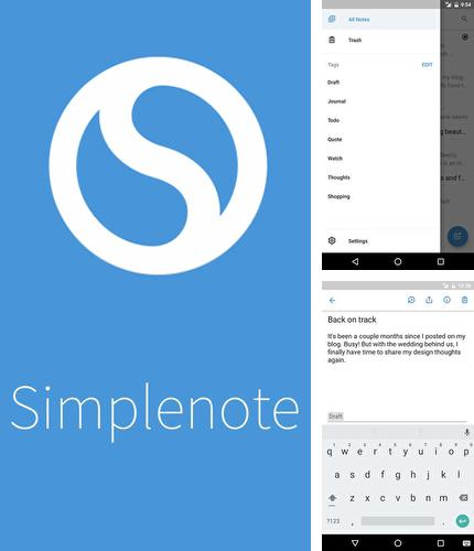 Download Simplenote for Android phones and tablets.