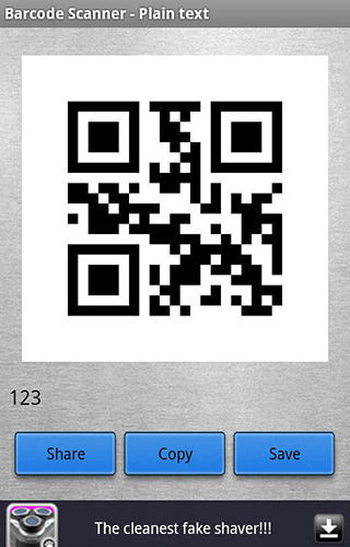 QR code: Barcode scanner app for Android, download programs for phones and tablets for free.