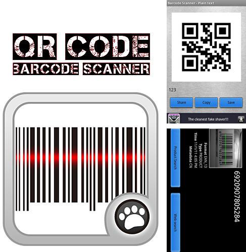 Besides Transparent clock and weather Android program you can download QR code: Barcode scanner for Android phone or tablet for free.