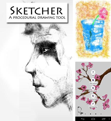 Besides Funny SMS Android program you can download Sketcher for Android phone or tablet for free.