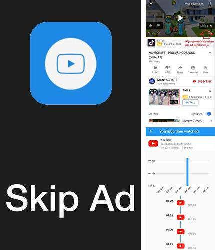 Besides Jokes free Android program you can download Skip ads for Android phone or tablet for free.