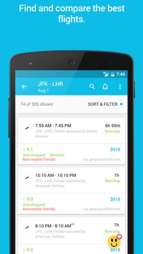 Download Skyscanner for Android for free. Apps for phones and tablets.
