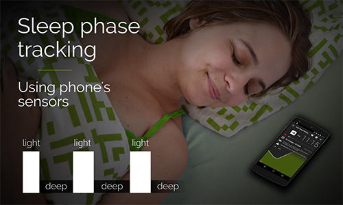 Capturas de tela do programa Sleep as Android em celular ou tablete Android.