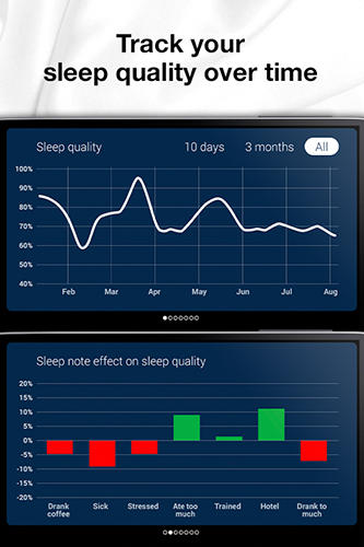 Sleep cycle: Alarm clock app for Android, download programs for phones and tablets for free.
