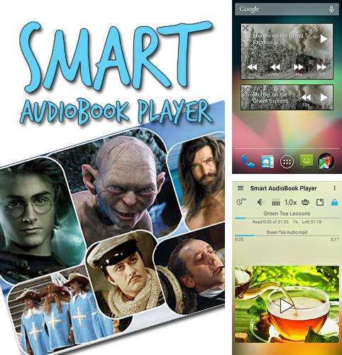 Besides Foreca weather Android program you can download Smart audioBook player for Android phone or tablet for free.