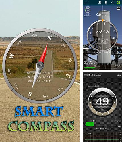 Besides AIMP Android program you can download Smart compass for Android phone or tablet for free.