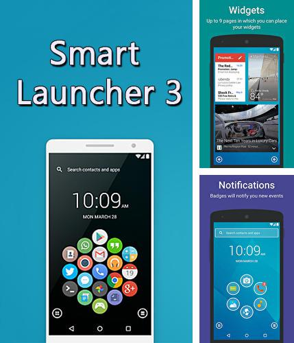 Besides Meteor swipe - Edge sidebar launcher Android program you can download Smart Launcher 3 for Android phone or tablet for free.