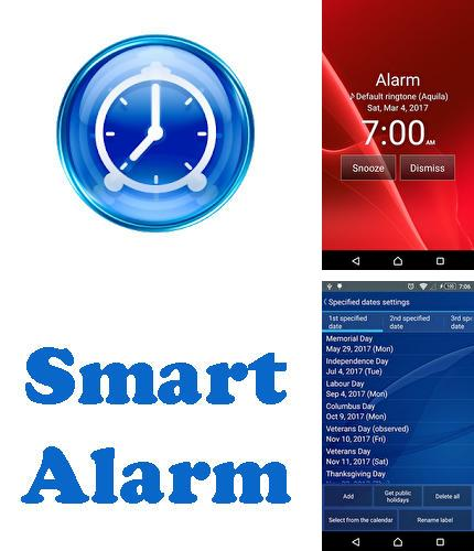 Besides DU battery saver Android program you can download Smart alarm free for Android phone or tablet for free.