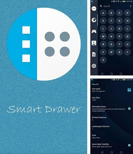 Besides Weather by Miki Muster Android program you can download Smart drawer - Apps organizer for Android phone or tablet for free.