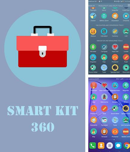 Besides Meteor swipe - Edge sidebar launcher Android program you can download Smart kit 360 for Android phone or tablet for free.